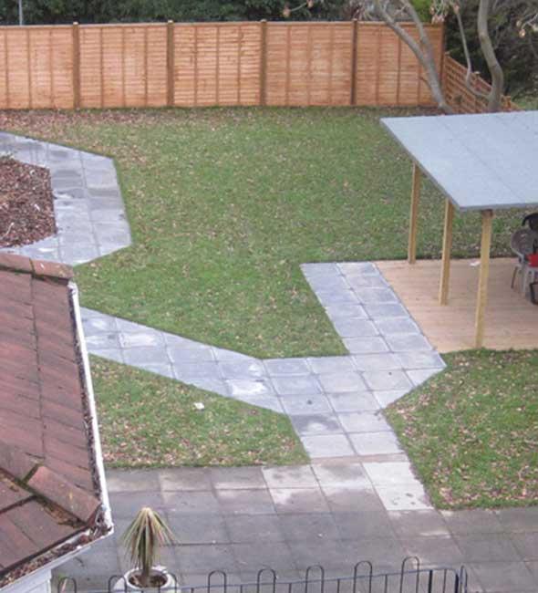 Image of the garden at Highbury Nursing Home
